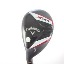 Callaway X Hot 3 Hybrid 19 Deg Graphite A Senior Flex LH 45679G