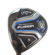 Callaway Big Bertha Fusion 5 Wood 18 Degrees UST Recoil ES F1 Ladies LH 46430G