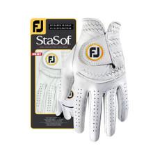 NEW!   1 FootJoy StaSof Women's Left Large Pearl White Golf Glove  GL-009
