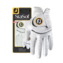 NEW!  1 FootJoy StaSof Women's Right Large Pearl White Golf Gloves  GL-016