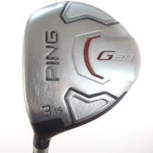 PING G20 3 Fairway Wood 15 Degrees TFC 169F Regular Flex Left-Handed 48543G