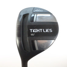 Adams Tight Lies 3 Fairway Wood 16 Degrees Bassara Stiff Flex LH 49193G