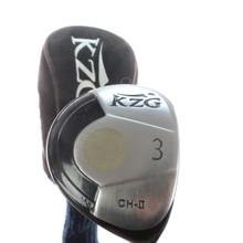 KZG CH-II 3 Fairway Wood ProForce 65 Graphite Ladies Flex 49323G