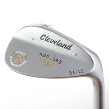 Cleveland 588 Precision Forged Satin Wedge 54 Deg 54.12 Steel Shaft 49357G