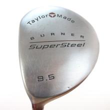 TaylorMade Burner SuperSteel 9.5 Driver Graphite Stiff Flex Left-Handed 49592G