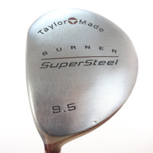 TaylorMade Burner SuperSteel 9.5 Driver Graphite Stiff Flex Left-Handed 49592G