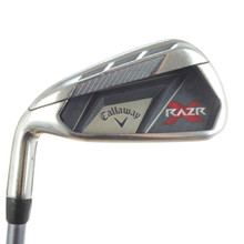 Callaway RAZR X Individual 6 Iron Graphite W Ladies Flex Left-Handed 49960A