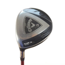 Callaway RAZR X Black 3 Wood Graphite Stiff Flex Left-Handed 50218G