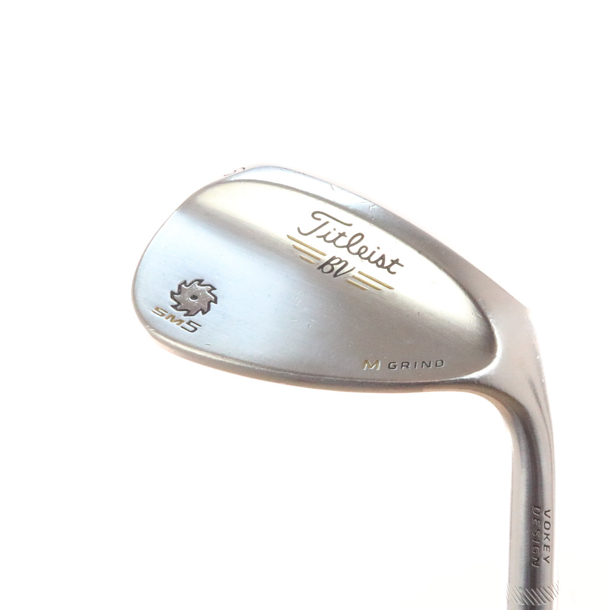 Titleist SM5 Tour Chrome Vokey Wedge 56 Degrees 56 10 Steel Shaft M Grind  51159G