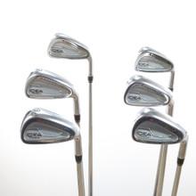 Adams IDEA Pro Gold Iron Set 5-P Project X 6.0 Steel Shaft Stiff Flex 51185G