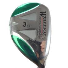 Warrior Golf 3 Hybrid 19 Degree Graphite Shaft Stiff Flex Right-Handed 51318G