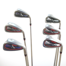 Tour Edge Exotics XCG3 5-P Iron Set Steel KBS Tour 90 Stiff Flex 51790A