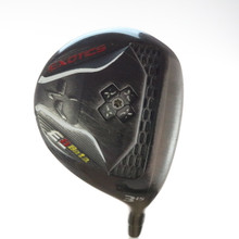Tour Edge Exotics E8 Beta 3 Wood 15 Degrees Aldila Rogue Stiff Flex 52813A