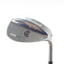 Cleveland 588 DSG Chrome Wedge 54 Degrees True Temper Steel Right-Handed 53003D