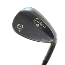 Titleist SM5 Raw Black Vokey Wedge 56 Degrees 56.10 M Grind Steel Shaft 53116G