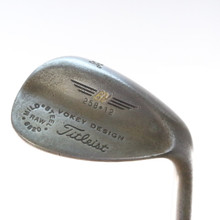Titleist Mild Steel Raw 8620 Wedge 58 Degrees 258.12 Dynamic Gold Steel 53468D