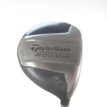 TaylorMade 200 Steel 3 Fairway Wood Graphite Shaft Senior Flex 53649G