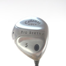 Callaway Big Bertha 5 Fairway Wood Deg Graphite Gems 55w Womens Ladies 53652G