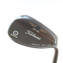 Titleist SM4 Spin Milled Oil Can Vokey Wedge 58 Deg 58.06 Steel Shaft 53718D