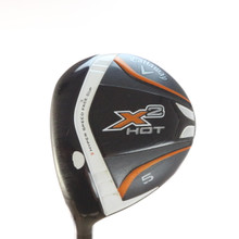 Callaway X2 Hot 5 Fairway Wood 18 Degrees Aldila Tour Stiff Flex LH 54173G