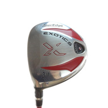 Tour Edge Exotics XCG 3 Fairway Wood 15 Deg Aldila DVS Regular Flex LH 54399A