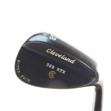 Cleveland 588 RTX Black Pearl Wedge 58 Deg 58.14 Dynamic Gold Steel 54086D