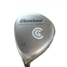 Cleveland Launcher Comp 3 Wood 15 Degrees Graphite Regular Flex LH 54209G