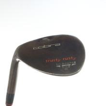 Cobra Trusty Rusty Rust Wedge 53 Degrees Dynamic Gold Stiff Left-Handed 54876D