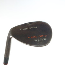 Cobra Trusty Rusty Rust Wedge 53 Degrees Dynamic Gold Stiff Left-Handed 54876D
