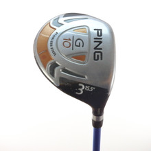 PING G10 3 Fairway Wood 15.5 Degrees TFC 419 SR Senior Flex Right-Handed 54749A