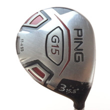 PING G15 3 Fairway Wood 15.5 Degrees TFC 149F Regular Flex Right-Handed 54839G