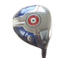 Callaway Big Bertha Alpha Driver 10.5 Degrees Fubuki 50 A Senior Flex 55150A