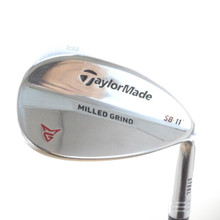 TaylorMade Milled Grind Chrome Wedge 58 Degrees SB 11 Dynamic Gold Steel 55484D