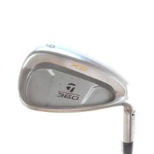 TaylorMade 360 XD Individual 9 Iron Steel Shaft Stiff Flex Right-Handed 55878D