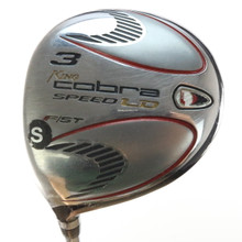 King Cobra Speed LD F/ST 3 Fairway Wood Steel Stiff Flex Left-Handed 55818G