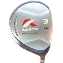 Kasco KC-103 Tour 3 Wood 14 Degrees Fujikura Vista Pro 90 X-Stiff Flex 56158A