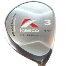 Kasco KC-103 Tour Pro 3 Wood 14 Deg Grafalloy ProLaunch Blue Stiff Flex 56160A