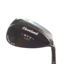 Cleveland 588 RTX Black Satin Wedge 58 Degrees 58.06 Dynamic Gold Steel 56263D