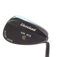 Cleveland 588 RTX Black Pearl Wedge 56 Degrees 56.14 Dynamic Gold Steel 56492D