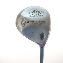 Callaway Big Bertha Warbird Heavenwood 7 Wood Gems Graphite Ladies Flex 56607A