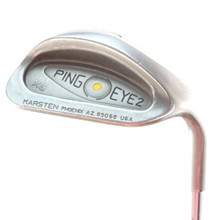 Ping EYE2 XG Sand S Wedge Yellow Dot Steel Shaft Stiff Flex Right-Handed 56504D