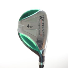 Warrior Golf 4 Hybrid 22 Degrees Graphite Shaft Stiff Flex Right-Handed 56669A