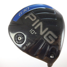 PING G30 SF Tec Driver 10 Degrees TFC 419 Regular Flex Right-Handed 56773G