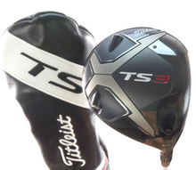 2019 Titleist TS3 Driver 9.5 Degrees Even Flow 6.0 Stiff Flex Headcover 56882A