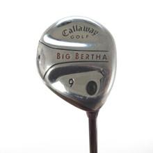 Callaway Big Bertha 9 Fairway Wood Graphite RCH 75w Regular Flex 56930G