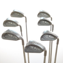 Ping EYE2 Plus Iron Set White Dot KT-Shaft Steel Stiff Flex Right-Handed 57041A
