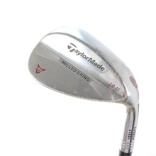 TaylorMade Milled Grind Chrome Wedge 58 Degrees SB 11 Steel Dynamic Gold 57062A