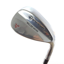 TaylorMade Milled Grind Chrome Wedge 56 Degrees SB 12 Steel Dynamic Gold 56971G