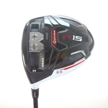 TaylorMade R15 White 460 Driver 9.5 Degrees X-Stiff Flex Left-Handed 57148A