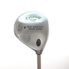 Callaway Big Bertha Warbird Divine Nine 9 Wood Graphite Gems Ladies Flex 57565A